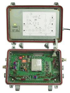 Схема построения кабельного телевидения